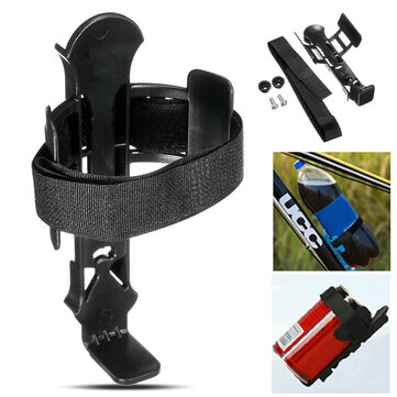 BIKIGHT Adjustable Plastic Bike Bicycle Cycling Water Bottle Rack Cup Cage Holder with Screws