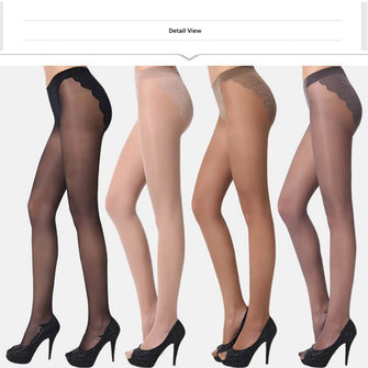Women Ladies Nylon Thin Transparent Tights Hosiery Silk Stocking Sexy Pantyhose