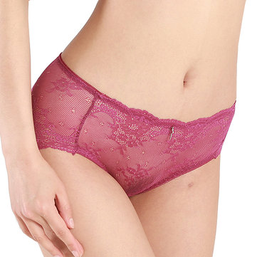 Seamfree Lace Hollow Out Breathable Soft Panties