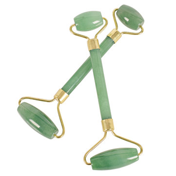 Natural Stone Facial Massage Roller Practical Jade Face Anti Wrinkle Body Head Portable Tools
