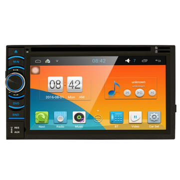 6.5 Inch Android Car DVD/SD/AUX/GPS Player Universal Tough Screenn Panel In Dash