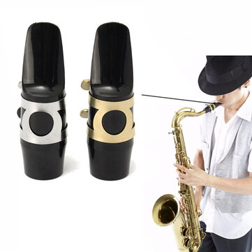 Alto Sax Saxophone Mouthpiece with Cap Buckle Reed Patches Pads Cushions