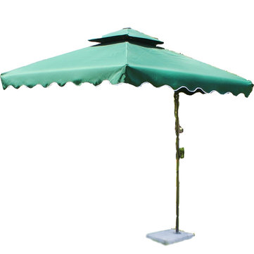 Outdoor Large Awning Sunshade Sun Umbrella Shelter Garden Yard Booth UV Proof Sun Shading