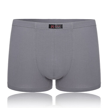 Super Soft Breathable Elastic Fat Man Big Size Loose Boxers Underwear 2XL-4XL