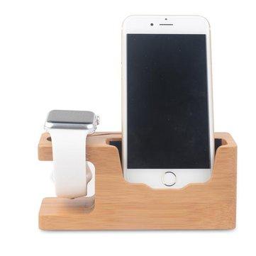 bamboo universal schreibtisch stand ladestation halter f r. Black Bedroom Furniture Sets. Home Design Ideas