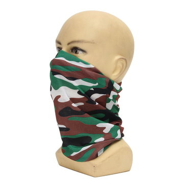 Multifunctional Face Mask Scarf Men Women Hat Bracer Cuff For Motor Bike Bicycle Riding Skiing Running