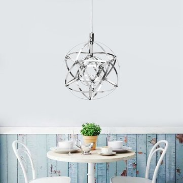 20cm Modern LED Suspension Chandelier Light Sphere Pendant Ceiling Lamp for Restaurant Bar Home