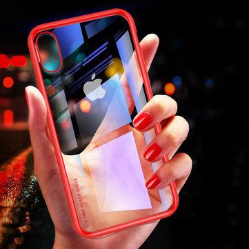 Cafele 6D 0.7mm Ultra-thin 9H Clear Tempered Glass Protective Case For iPhone X