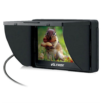 Viltrox Portable DC-50 HD Clip-on LCD 5inch Camera Monitor Wide View for Canon Nikon Sony DSLR DV