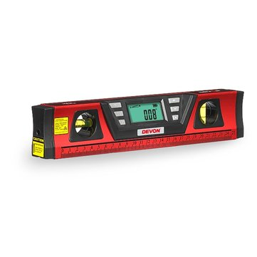DEVON® 9405.2 Laser Digital Level Meter Infrared Finder Precision Right Angle Tool
