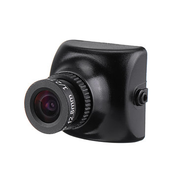 Foxeer XAT600M HS1177 600TVL CCD 2.8MM IR Mini FPV Camera IR Blocked 5-22v with Bracket For RC Drone