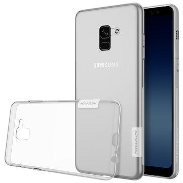 NILLKIN Soft TPU Ultra İnce Kılıf, Samsung Galaxy A8 Plus için (2018)