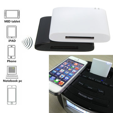 Mini bluetooth V2.1 EDR Music Receiver Adapter for Phone Iphone Samsung Galaxy S6 5 Notebook Speaker