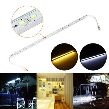 50CM SMD5630 36 LED Rigid Light Bar Kit for Closet Bookshelf Home DIY Decoration Waterproof DC12V