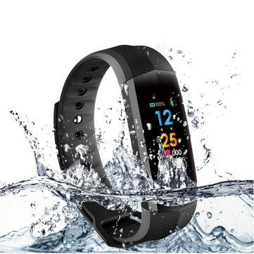 CD02 Continuous Heart Rate Monitoring Smart Bracelet Fitness Tracker Sport Watch For IOS Android