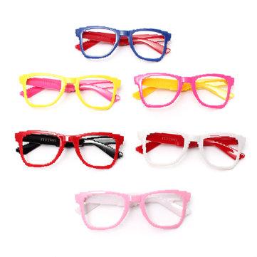 42X127mm Colorful PC Cute Fashion Lens-free Eyeglasses Frame Party Glass Optical Eyewear Children Kids