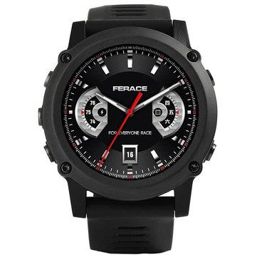 FERACE HY-WS01 512MB+4G GPS WIFI Watch Phone 1.39'' Screen IP68 Waterproof Smart Watch Sports Tracker Heart Rate Monitor Fitness Bracelet