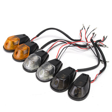 Motorcycle Turn Signals Amber Flush Mount Light For Kawasaki Ninja EX 250 250R