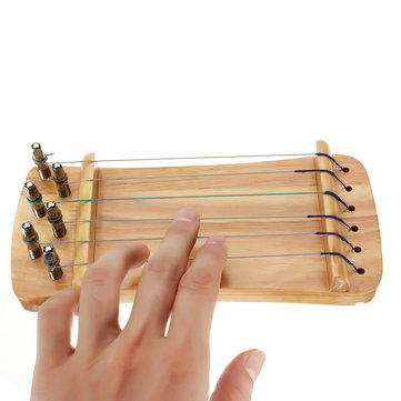 6 Strings Houten Transparant Finger Trainer voor Guzheng Chinese Citer Player
