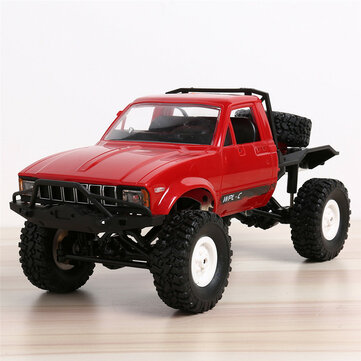 Bang good WPL C14 1/16 2.4G 4WD Off Road RC Military Car Rock Crawler Truck With Front LED RTR Toys
