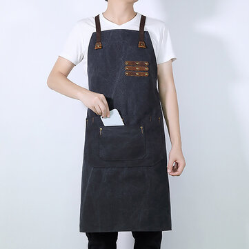 Waterproof Oil Resistant Studio Painter Craftsman Tool Apron