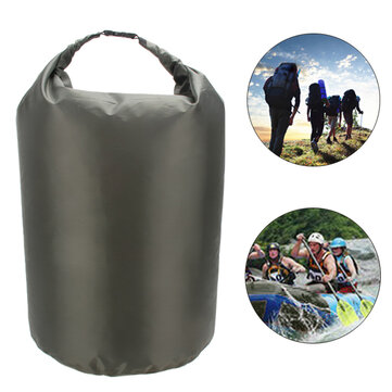 8L/40L/70L Waterproof Bag Outdoor Camping Dry Storage Bag Portable Diving Compression Storage Pack