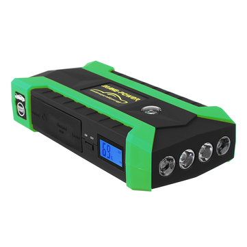 iMars 89800mAh LED 4 USB Car Jump Starter Pack Booster Charger Battery Power Bank 600A
