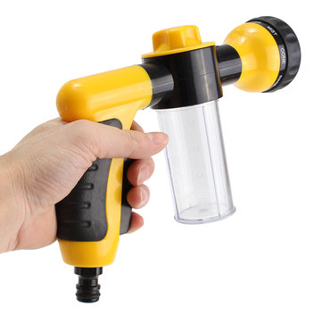 8 In 1 High Pressure Turbo Nozzle Spray Gun Wash Water Cleaner Car Tool