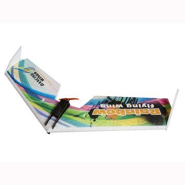 DW HOBBY Rainbow V2バージョン800mm Wingspan EPPフライングウイングFPV RC飛行機キット