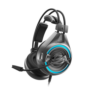SOMiC A6 USB Wired Passive Noise Reduction Gaming Headphone Headset with Microphone