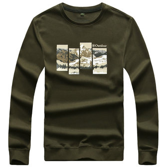 Outdoor Thick Cotton Long Sleeve Sweatshirt