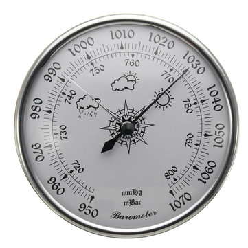 980~1040hPa Barometer Air Pressure Gauge Weatherglass Weather Meter Wall Hanging