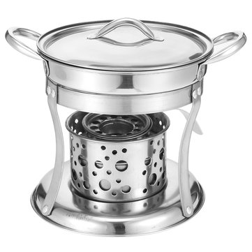 Shabu Thick Cookware Stainless Steel Hot Pot