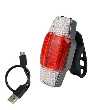 BIKIGHT Intelligent Turn Signal Brake Bicycle Light USB Rechargeable Taillight COB LED