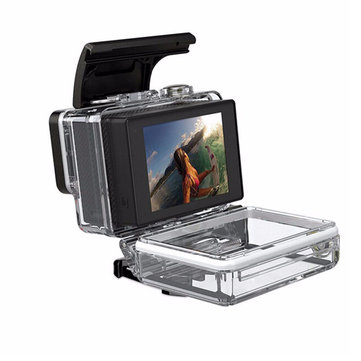 SHOOT 2 inch Non-touchable LCD External Display Screen For Gopro Hero 3 plus 4 with Screen Backpack