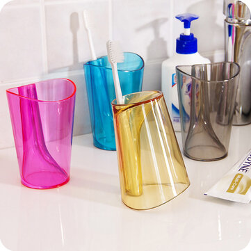Toothbrush Holder Home Antiscale Innovative Gargle Tooth Mug Toothbrushing Cup Tooth Glass For Bathroom Accessories Sets