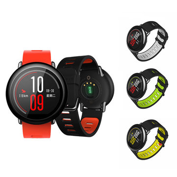 Silicone Strap Smart Watch Sports Band Wristwatch for Xiaomi Huami Amazfit