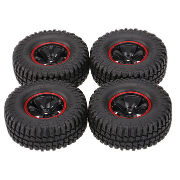 4Pcs AUSTAR AX-3020C 1.9 Inch 103mm RC Car Tires With Hub For 1/10 D90 SCX10 CC01 RC Car Crawler