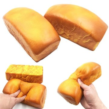 Squishy Bread Cream Jumbo Scented Slow Rising Squeeze Strap Kids Toy