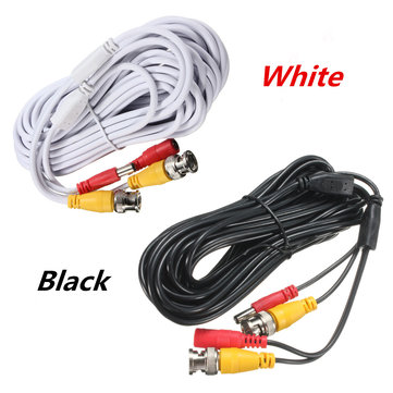 10M Security Video BNC DC Extension Lead Power Cable for CCTV Camera DVR System