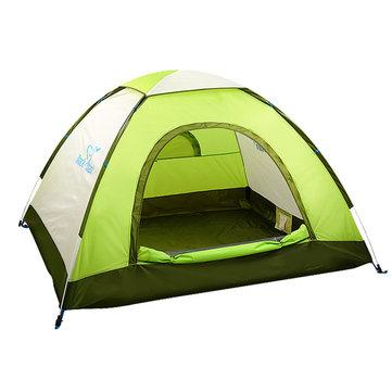 Trackman TM1113 3 Человек Кемпинг Палатка Быстрое автоматическое открытие Водонепроницаемы Пешеходные пикники Сезонные палатки