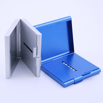 Laifu TS-K2 4 Colors Aluminum Alloy Cigarette Case Tobacco Storage Box Container Smoking Accessories