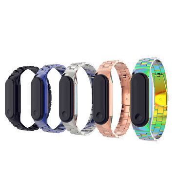 Bakeey Metal Straps Stainless Steel Watch Band for Miband 3