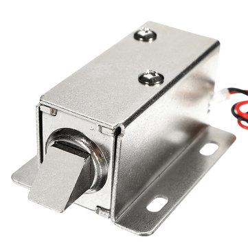 24V DC 0.8A Electric Lock Assembly Solenoid Cabinet Door Drawer Lock