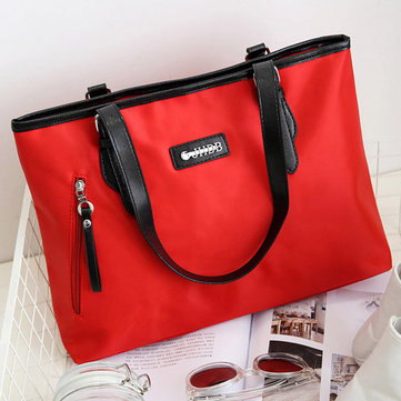 Women Nylon Waterproof Fashion Durable Handbag Shoulder Bag