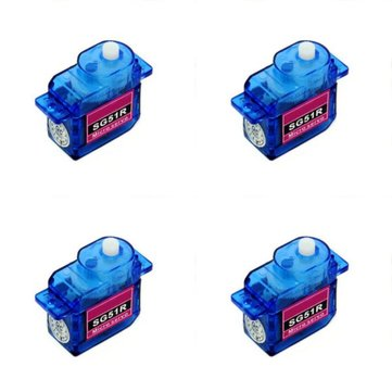 4X SG51R 5g Plastic Gear Digital Micro Servo For RC Airplane