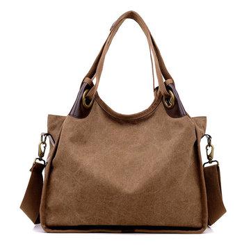 Женщины старинные холст сумки дамы случайные сумки плеча мешки Crossbody емкости сумки