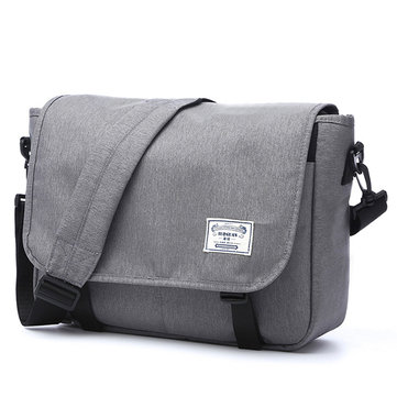Men's Oxford Messenger Bag
