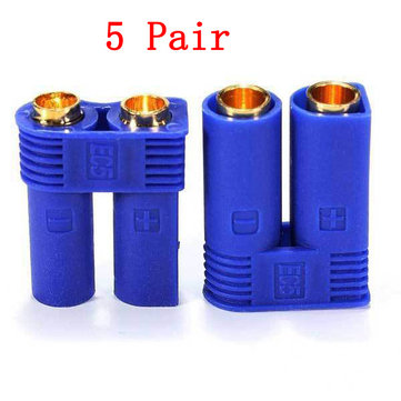 5 Pair 5mm EC5 Banana Connector Male Female Plugs