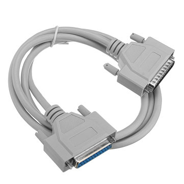 25Pin DB25 Parallel Male To Female LPT Printer DB25 M-F Cable Serial Connector Cable 1.5M Computer Cable Printer Extending Cable